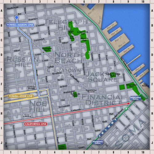North Beach map